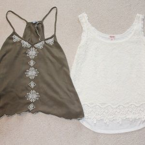 Tops - Pair of Summer Tops Medium